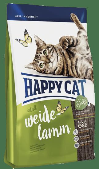 Happy Cat Adult сухой корм для кошек, с пастбищным  ягненком