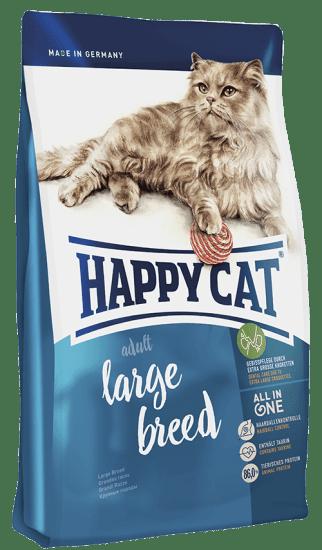 Happy Cat Large Breed сухой корм для кошек крупных пород , с птицей и ягненком