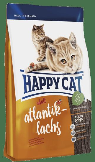 Happy Cat Adult сухой корм для кошек, с атлантическим лососем